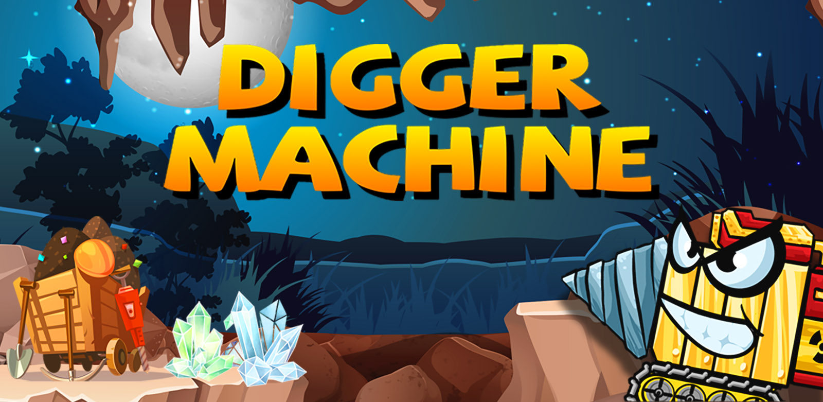 digger machine dig and find minerals featured image