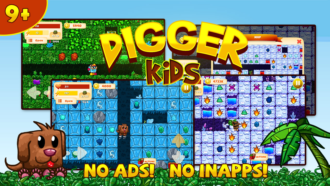 Digger Kids feature image